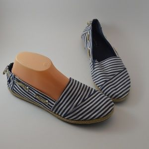 Nautica Rudder 2 Anchor Espadrille Slip On Shoe